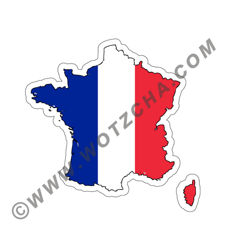 France MAPag Magnetic Decal