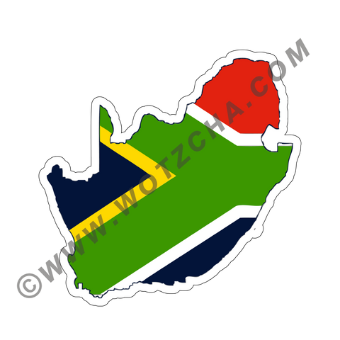 South Africa Magnetic Decal