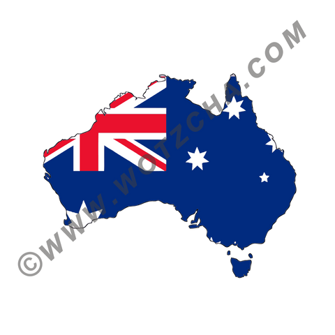 Australia MAPag static cling window Decal
