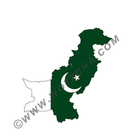 Pakistan MAPag static cling window Decal