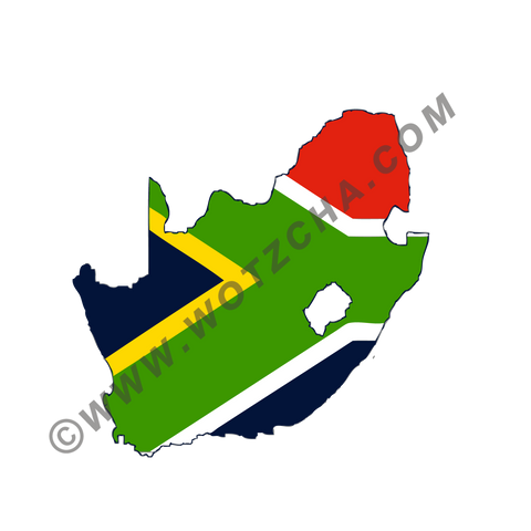 South Africa MAPag static cling window Decal