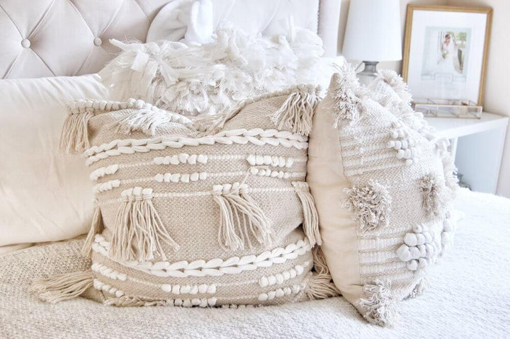 Tips for Choosing & Layering Pillows for Bohemian Style Bedrooms