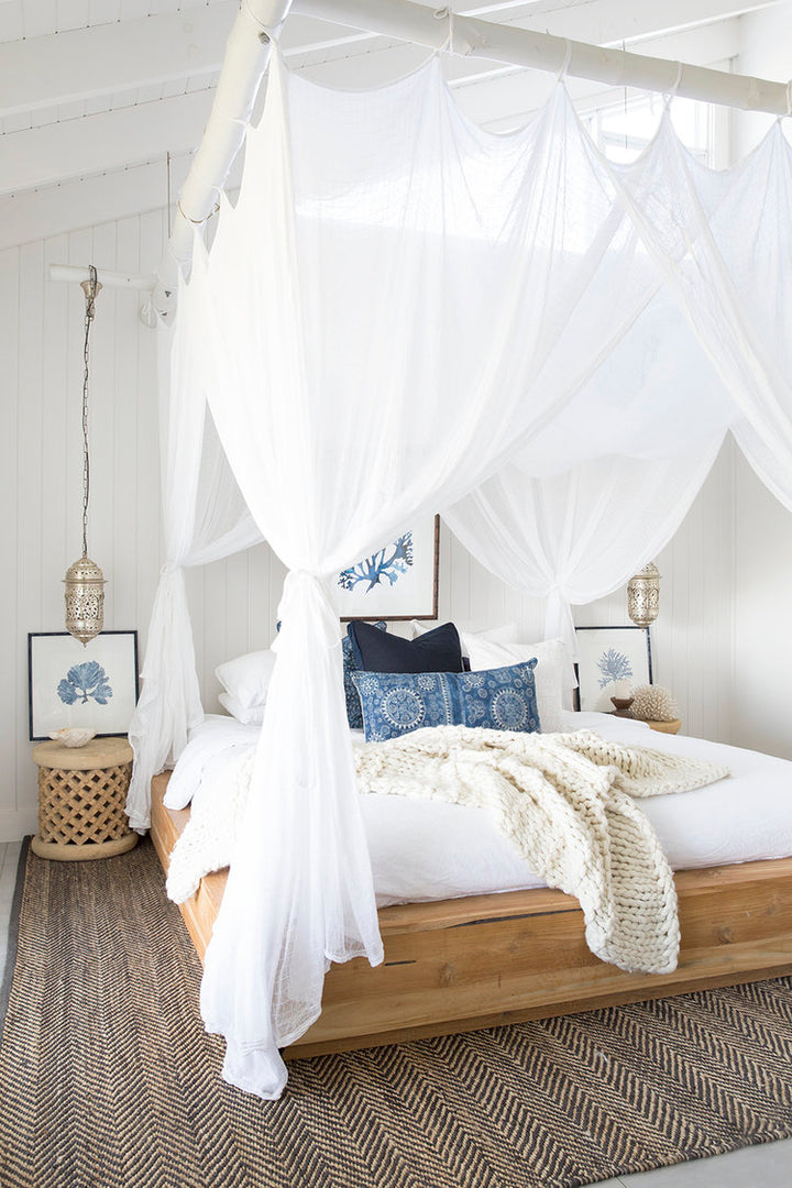 Get the Look: A Beachy Moroccan Themed Bedroom