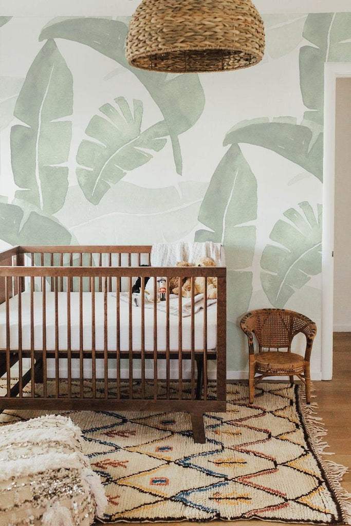 Banana Leaf WallPaper Etsy