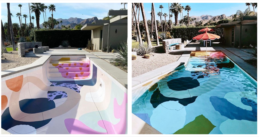 Colorful Handpainted Pool