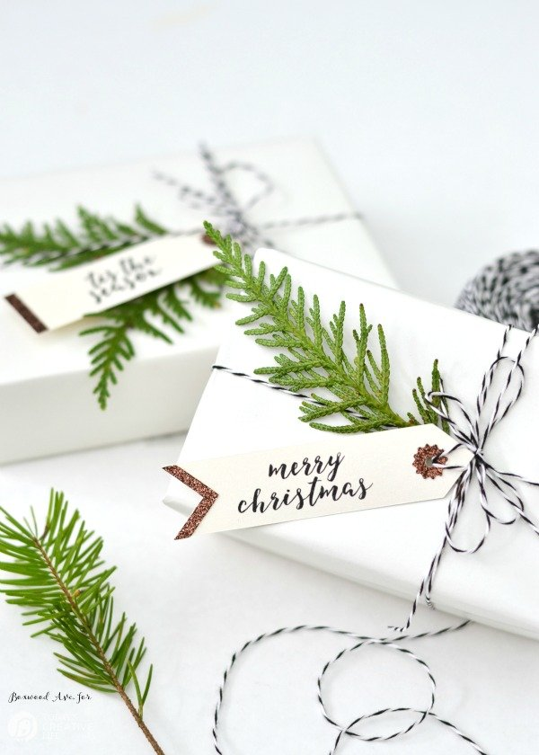 Greenery Gift Wrapping Ideas