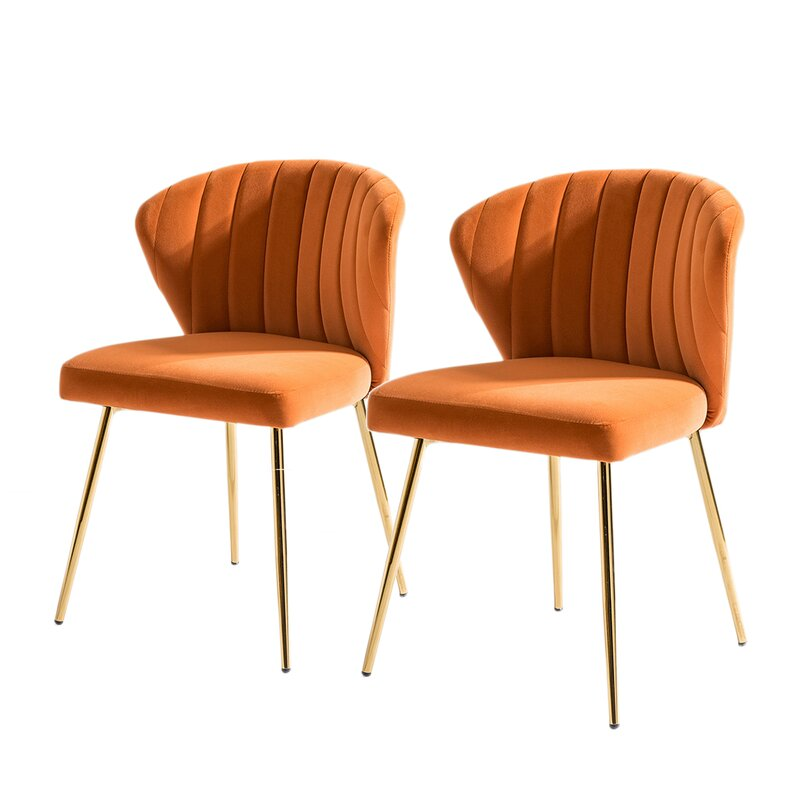 Burnt Orange Dining Chairs