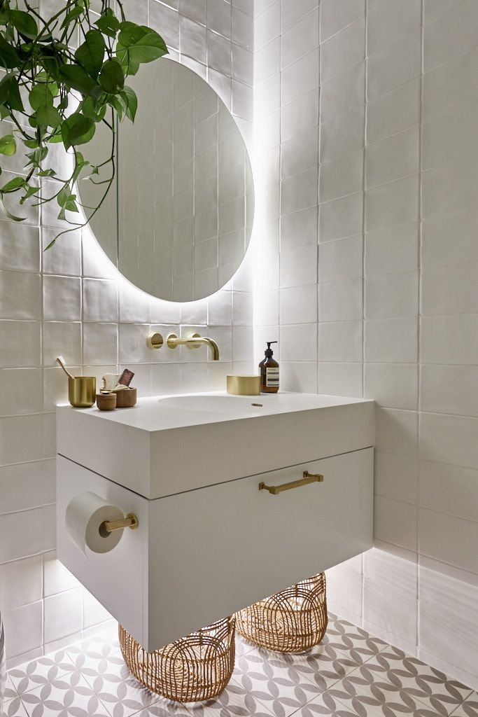 Glowing Bathroom Mirror