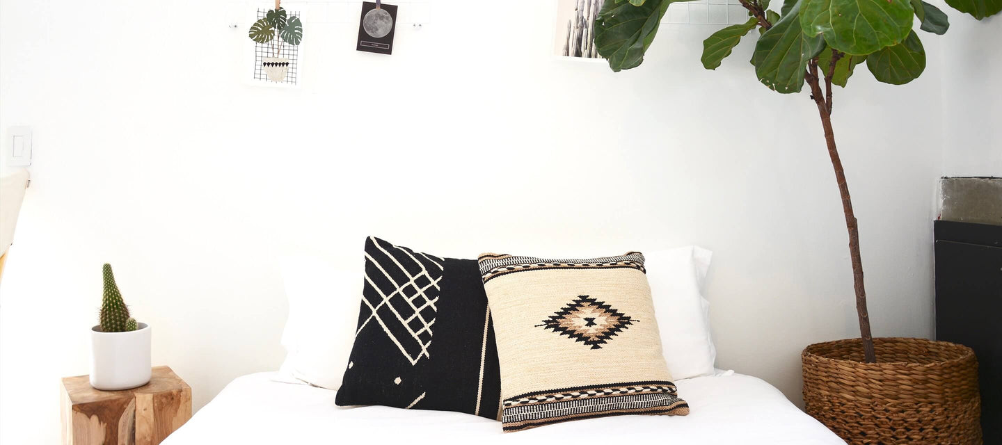 Pillows-on-bed