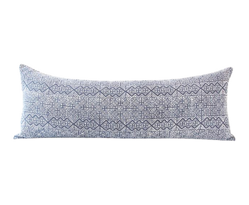 Batik Extra Long Lumbar Pillow 14x36 - #10