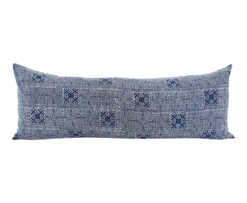 Batik Extra Long Lumbar Pillow 14x36 - #11