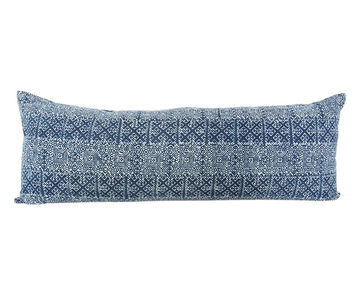 Batik Extra Long Lumbar Pillow 14x36 - #14