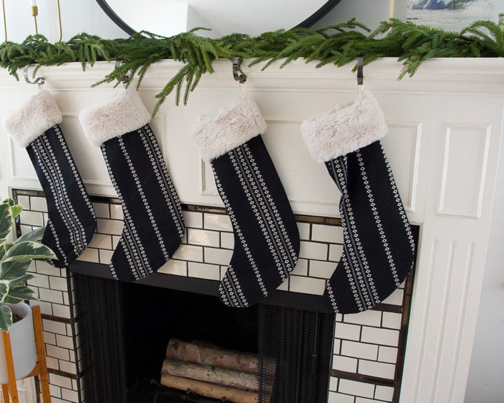 Black Diamond Christmas Stocking
