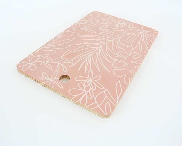 Blush Tropical Line Cutting Board