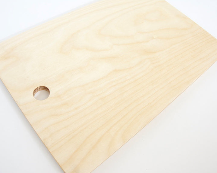 Abstract Ls Cutting Board