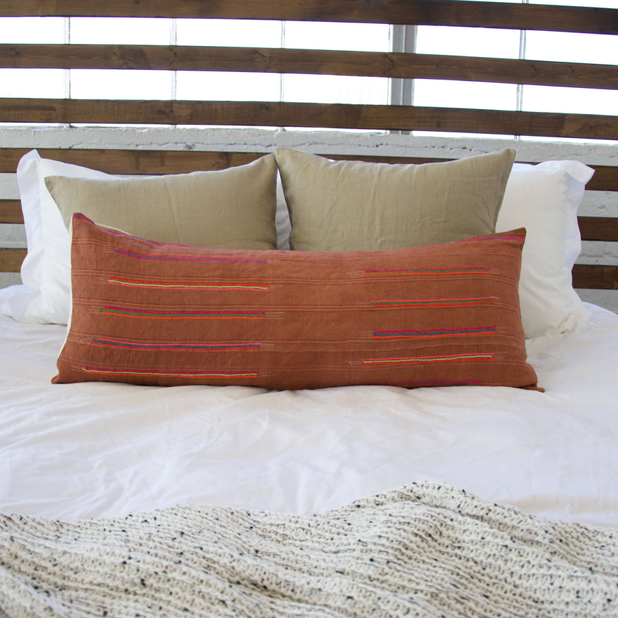 orange-hmong-lumbar-pillow
