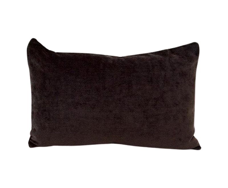 Dark Chocolate Lumbar Pillow - 14x22