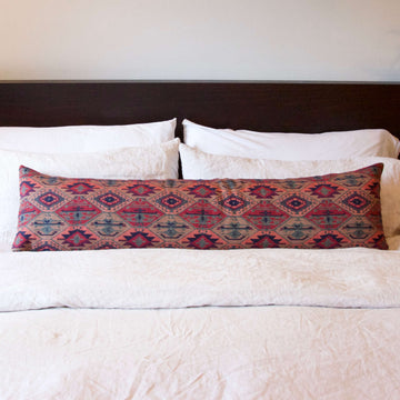 Extra Long Lumbar Pillow 14x50 inches for king bed