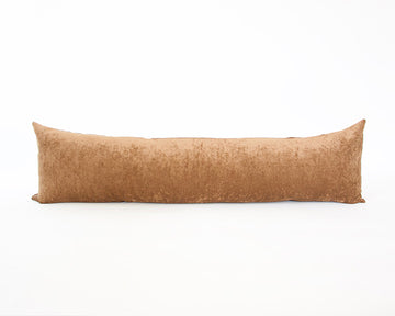 Golden Brown Extra Long Lumbar Pillow - 14x50