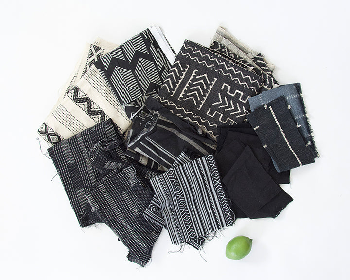 Fabric Bundle: Black & White #3