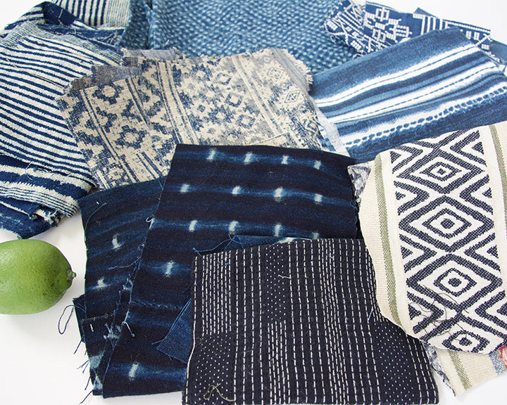 Fabric Bundle: Blues #1
