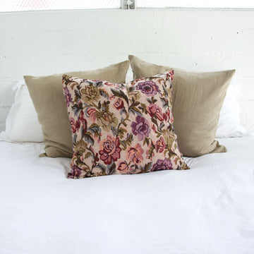 Floral Accent Pillow - 20x20