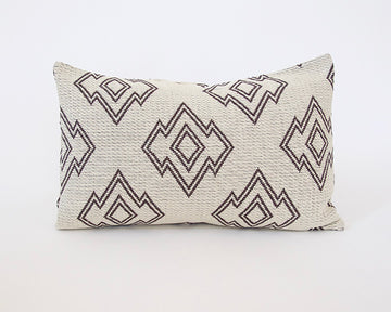 Geometric Lumbar Pillow - 14x22