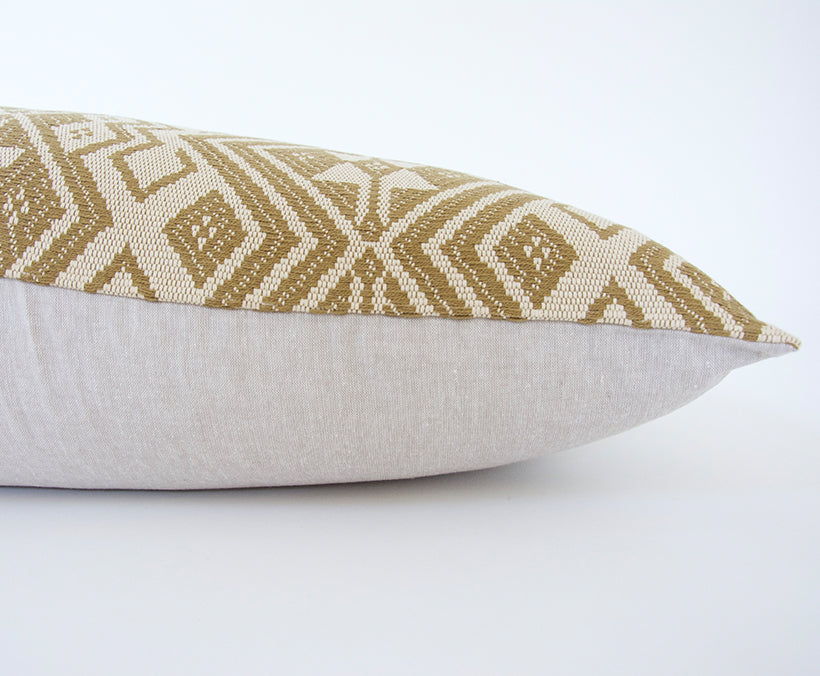Golden Ebony Extra Long Lumbar Pillow - 14x50