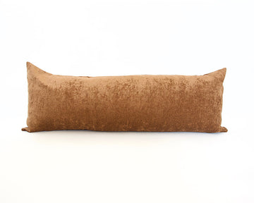 Golden Brown Extra Long Lumbar Pillow - 14x36