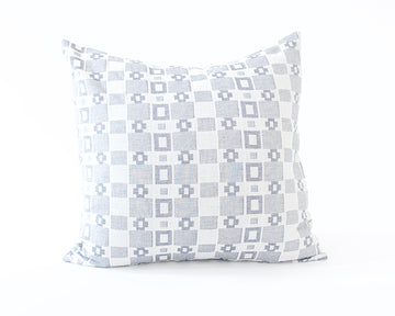 Grey Squares Accent Pillow - 20x20