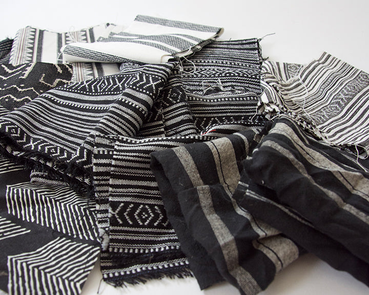 Fabric Bundle: Black & White #1