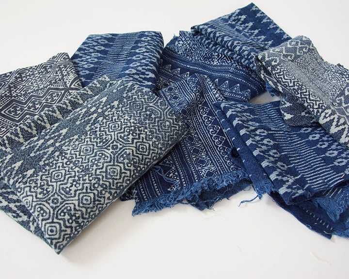 Fabric Bundle: Blue Batiks
