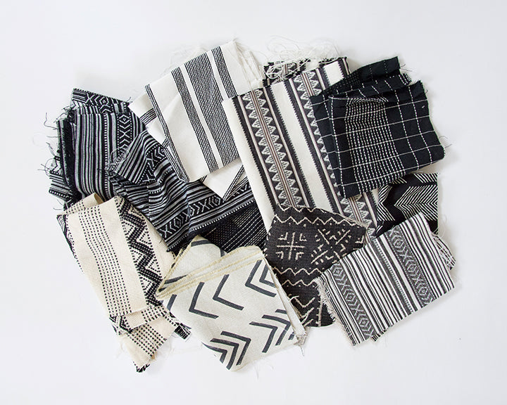 Fabric Bundle: Black & White #2