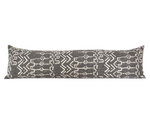 (Restocking End of February) Kona Mud Cloth Pattern Extra Long Lumbar Pillow - 14x50