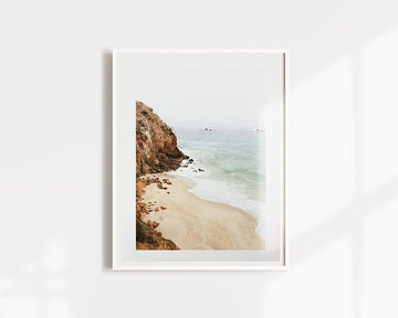 Malibu California Beach Print