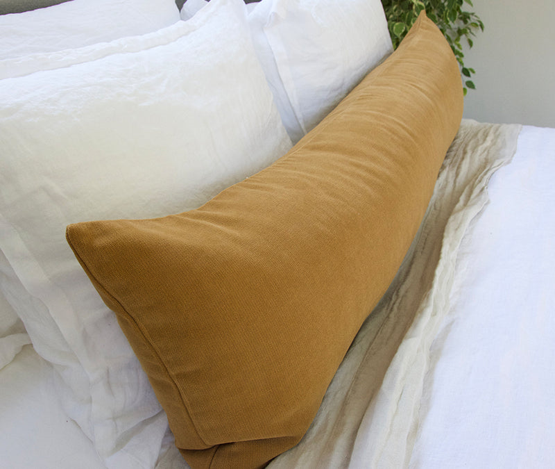 Mustard Extra Long Lumbar Pillow - 14x50