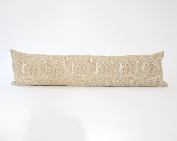 Natural, Safari Extra Long Lumbar Pillow - 14x50