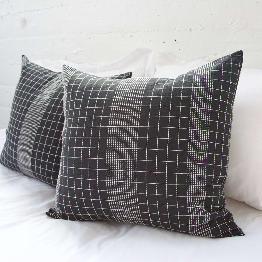 Off The Grid Pillow - Black - 22x22
