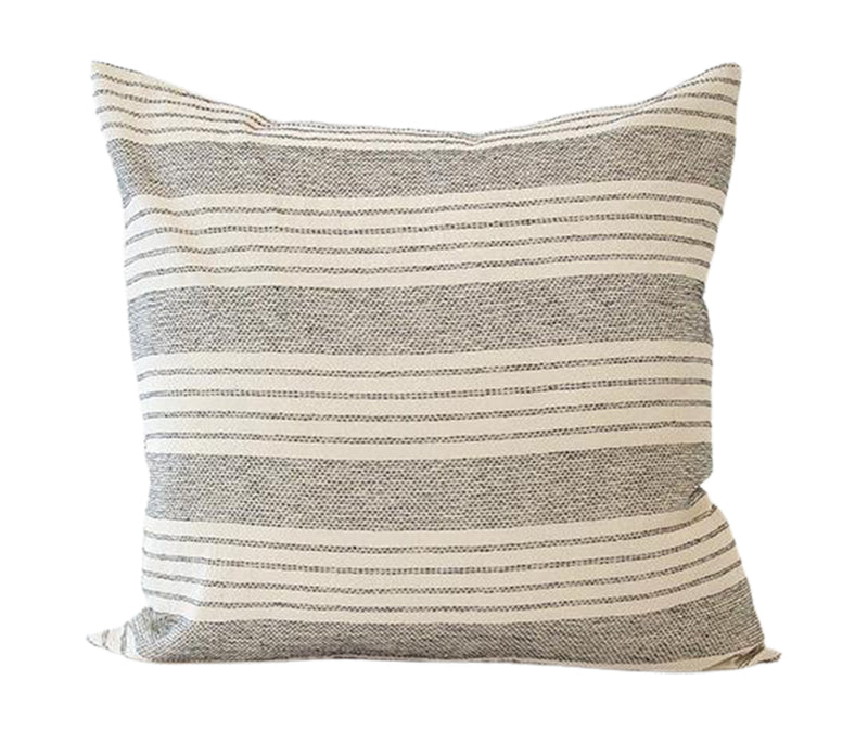 Off-White Stripe Accent Pillow - 20x20