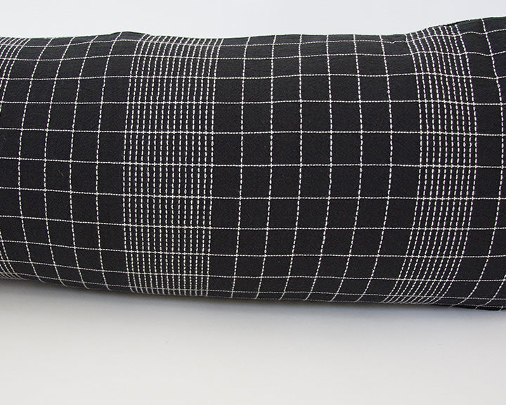 Off The Grid Extra Long Lumbar Pillow - Black - 14x36
