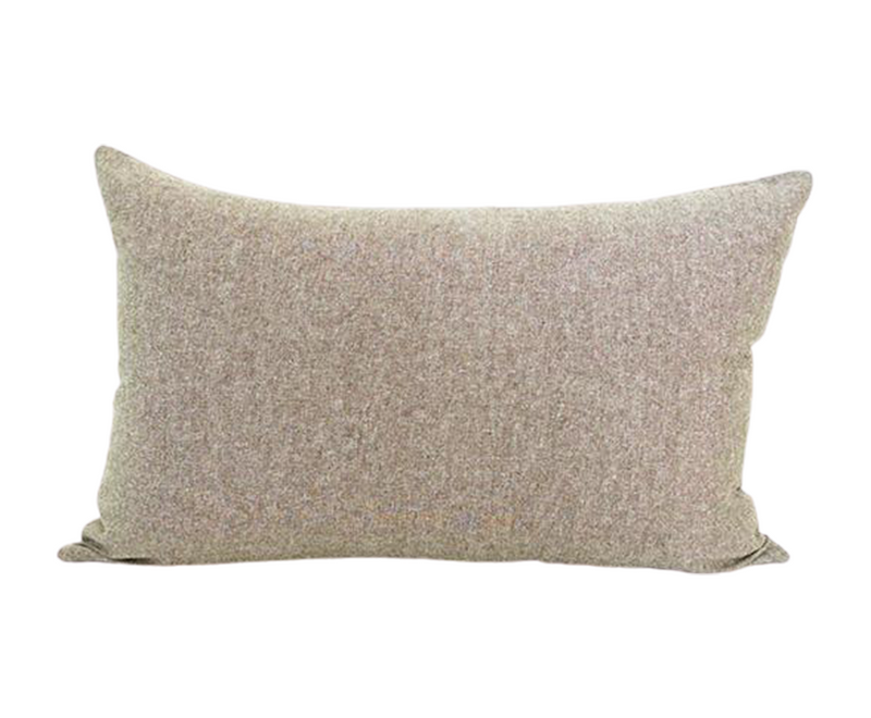 Olive Green Lumbar Pillow - 14x22