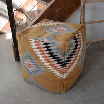 Orange-Navajo-Pouf-floorcushion