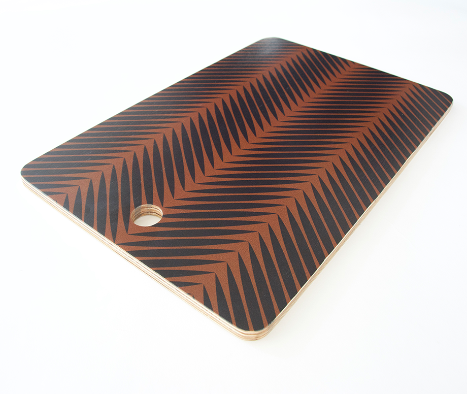Palm Symmetry Cutting Board