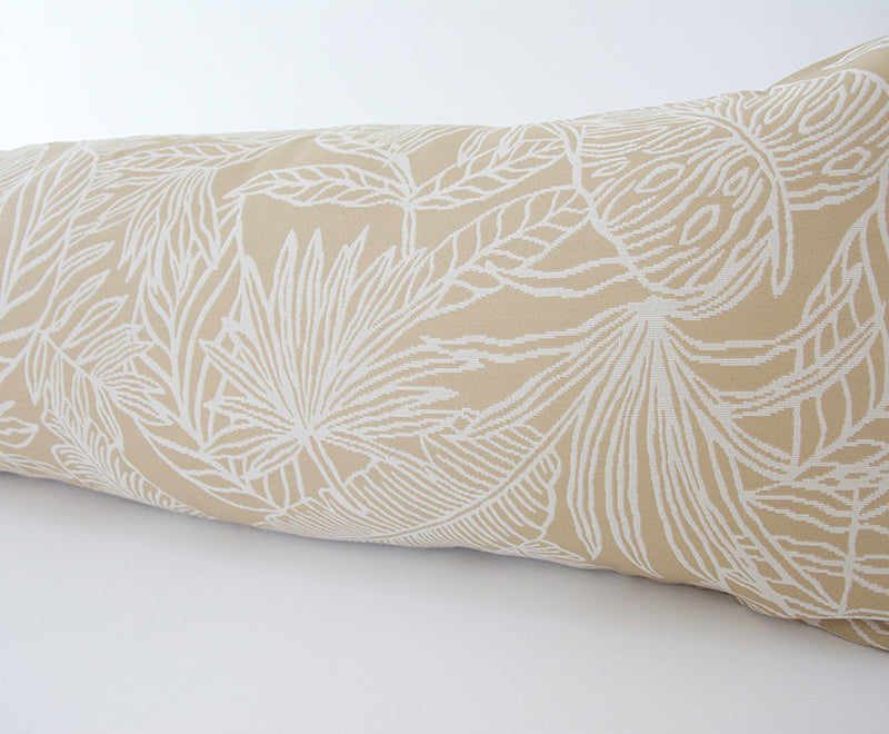 Phoenix Palm Extra Long Lumbar Pillow - 14x50