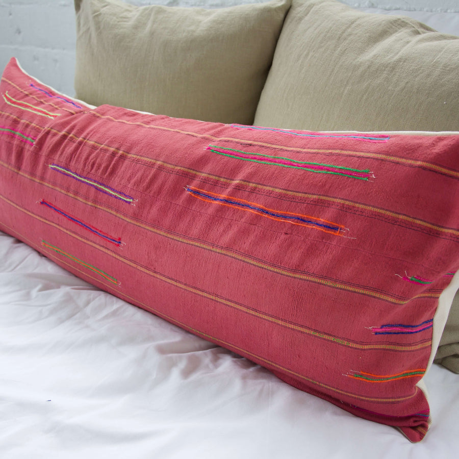 Vintage-Hmong_Pink-Extra-Long-Lumbar-Pillow