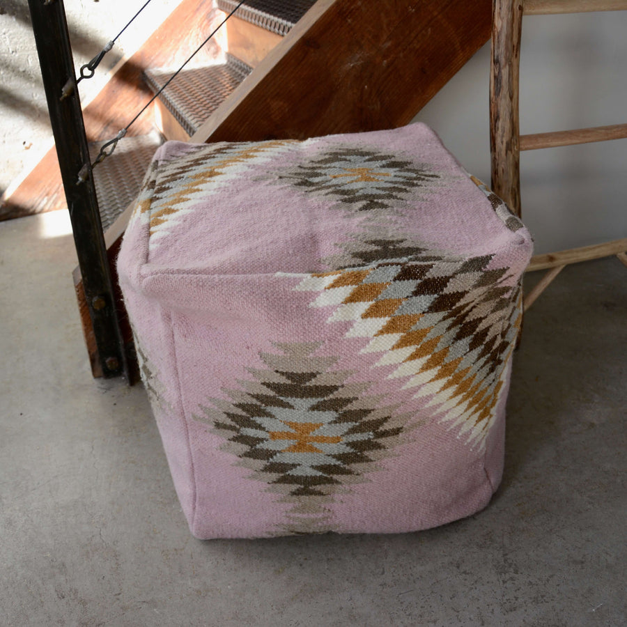 Pink-Navajo-Pouf-floorcushion