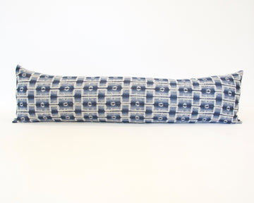 (Available Again Mid August) Progressive Blues Extra Long Lumbar Pillow - 14x50