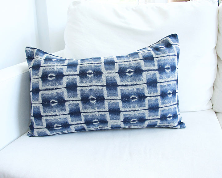 Progressive Blues Lumbar Pillow - 14x22