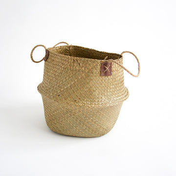 Woven Sea Grass Basket