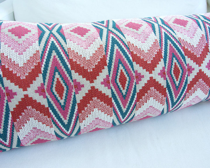 Snake River Blossom Extra Long Lumbar Pillow - 14x36